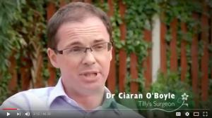 Burns treatment by Nottingham plastic surgeon